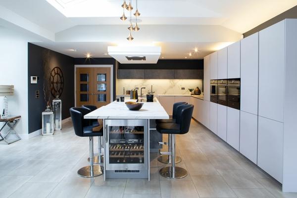 küchentrens moderne küchengestaltung technologie