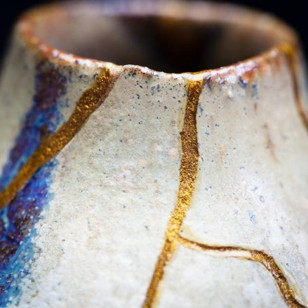 keramik reparieren goldlack kinsugi japanische technik