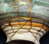 Kintsugi – das Geheimnis der alten japanischen Tradition gesprungene Keramik zu reparieren