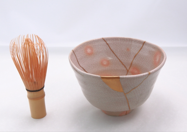 matcha keramikschale reparieren kintsugi technik