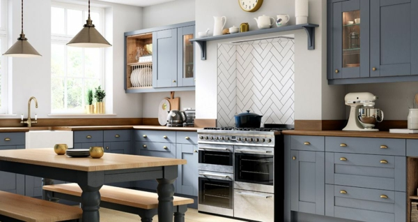 moderne landhaus küche küchentrends 2020