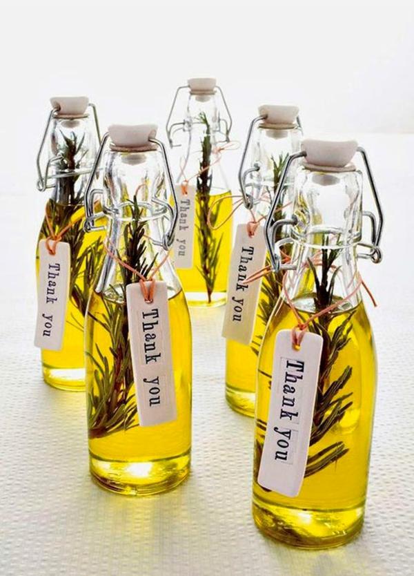 olivenöl rosmarin gesunde gastgeschenke hochzeit