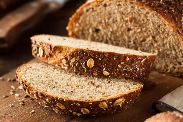 tolle Scheiben Brot - Vollkorn