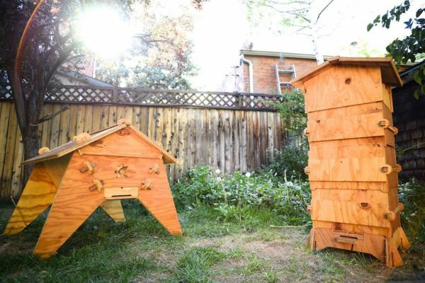 Bienenstock bauen Anleitung