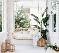 Farbenfrohe Veranda im Boho Style könnte Ihr Lieblingsort im Sommer sein