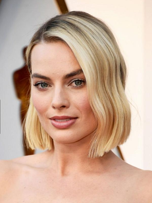 Bubikopf Frisur Clebrities Margot Robbie