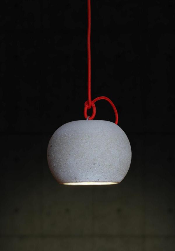 Concrete Ball Pendelleuchte Beton