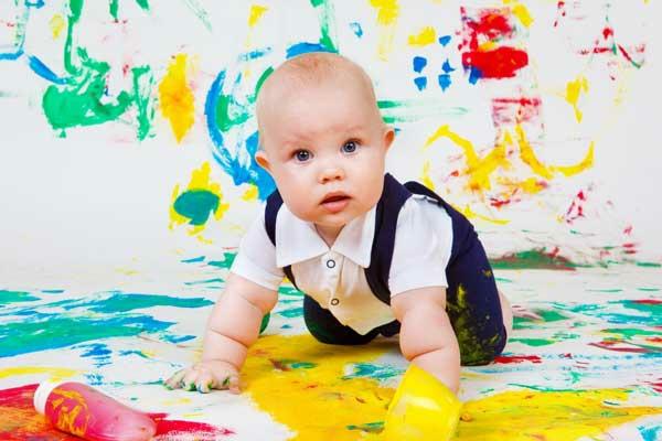 DIY Fingermalfarben Fingerfarben Bilder