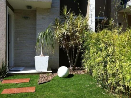 Eine Wiese mit vielen Pflanzen Gartengestaltung