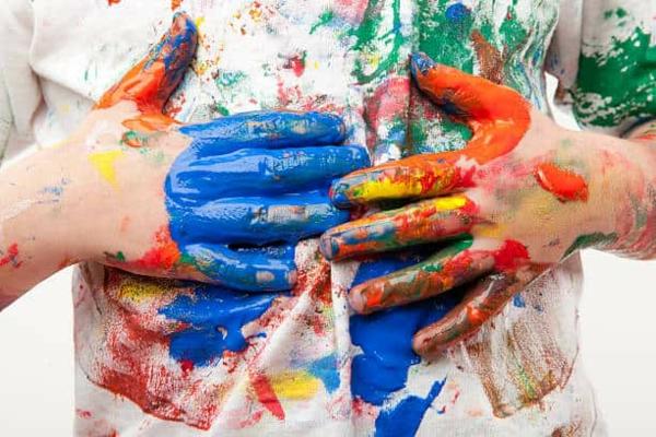 Fingermalfarben Fingerfarben Kinder