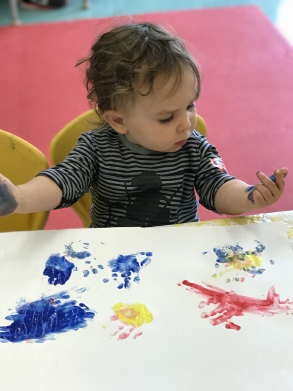 Fingermalfarben Kinder Fingerfarben Bilder