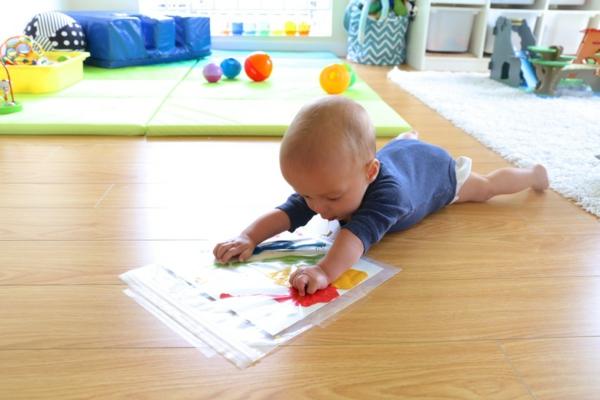 Fingermalfarben selber machen Fingerfarben für Babys und Kinder