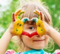 Fingermalen: So können Sie Fingerfarben für Kinder selber machen