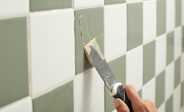 Fliesen bemalen Badezimmer Ideen Badfliesen Farbe