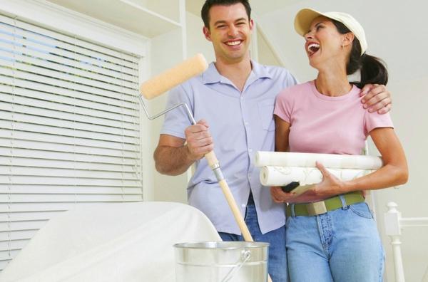 Fliesen bemalen Badezimmer neu gestalten Tipps