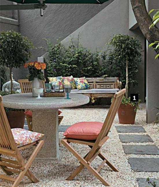 Gartengestaltung Aufteileung in verschiedene Bereiche