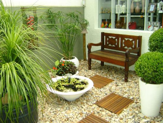 Gartengestaltung - Stufen und Steine