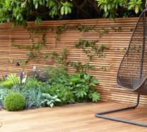 Eleganter und zugleich kreativer Sichtschutz für Garten und Hinterhof