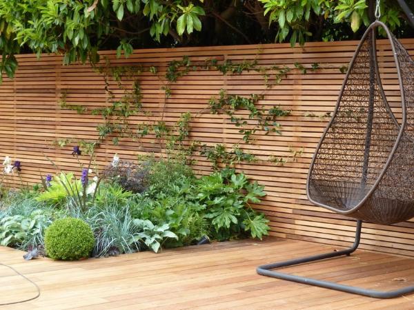 Gartengestaltung der best möglichen Art Kreariver Sichtschutz