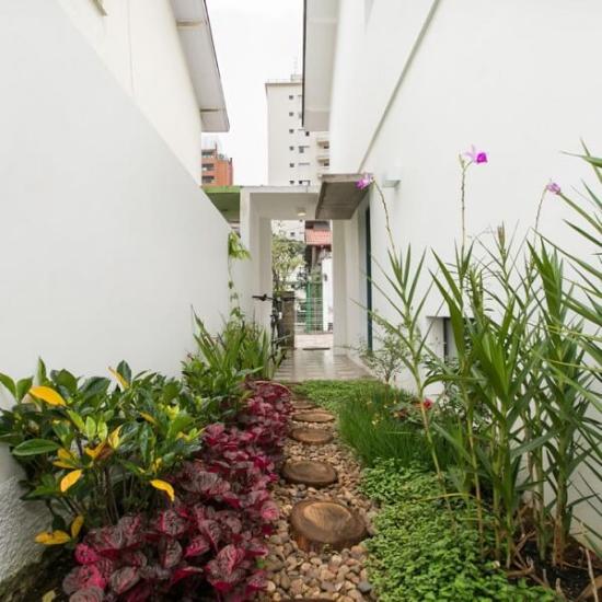 Gartengestaltung mit Steinen funktionell