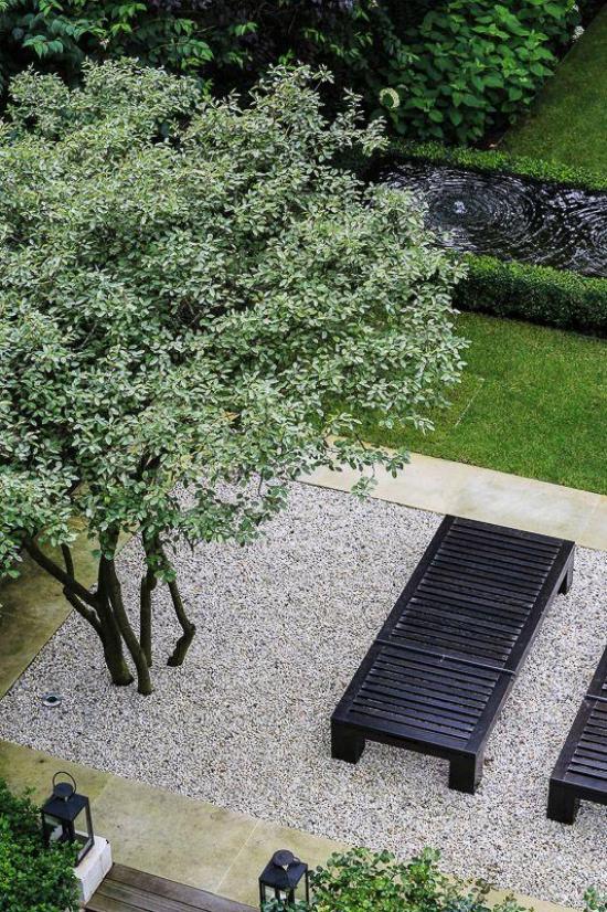 Gartengestaltung - sehr schöne Ideen für den Innenhof