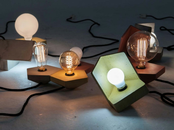 Geometrische Betonlampe Studio ory Pendelleuchte Beton