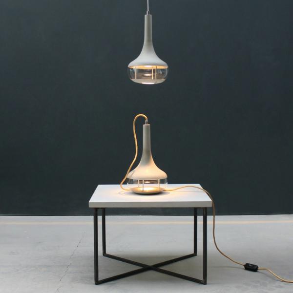 Idéeal Designerlampen Betonlampe Pendelleuchte Beton
