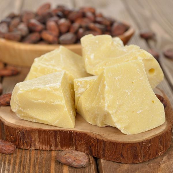 Körperbutter selber machen Kakaobutter hart
