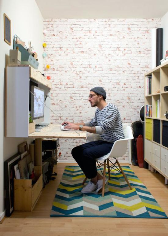 Klapptisch clevere Ideen für klappbare Möbelstücke Heimbüro