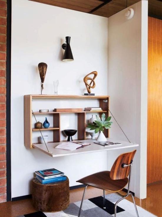 Klapptisch clevere Ideen für klappbare Möbelstücke Stil und Deko naturnahe Stuhl
