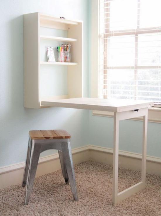 Klapptisch clevere Ideen für klappbare Möbelstücke ideen