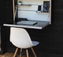 Klapptisch und weitere klappbare Möbelstücke für drinnen und draußen