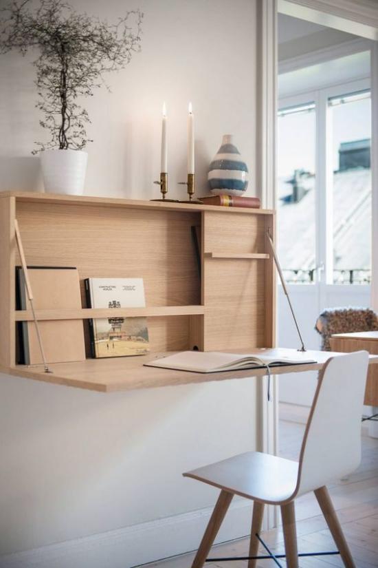 Klapptisch clevere Ideen für klappbare Möbelstücke