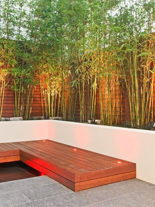 Kreariver Sichtschutz - schöner exotischer Garten