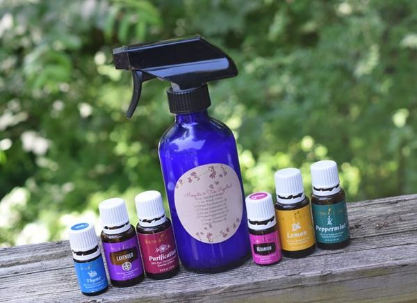 Mückenspray selber machen Tipps ätherische Öle verwenden