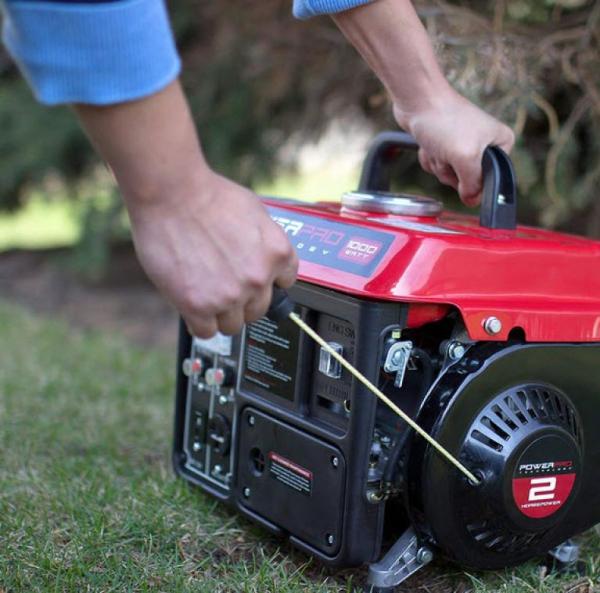 Notstromaggregat – welcher Antriebskraftstoff ist der Beste generator für notfälle rot