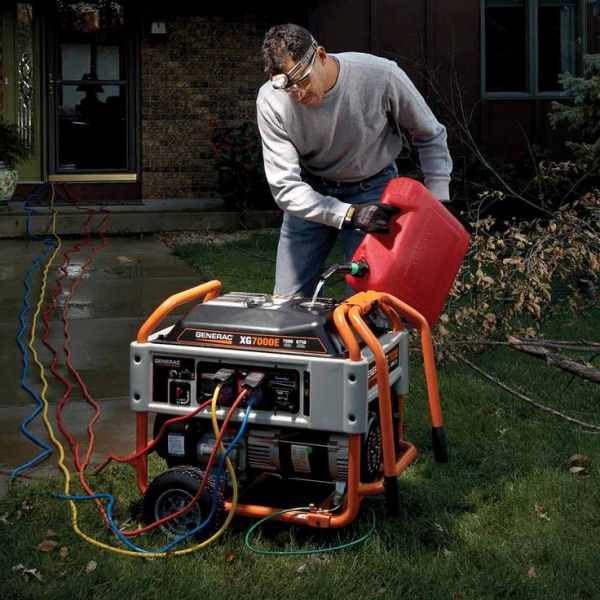 Notstromaggregat – welcher Antriebskraftstoff ist der Beste großer generator notfälle petrol