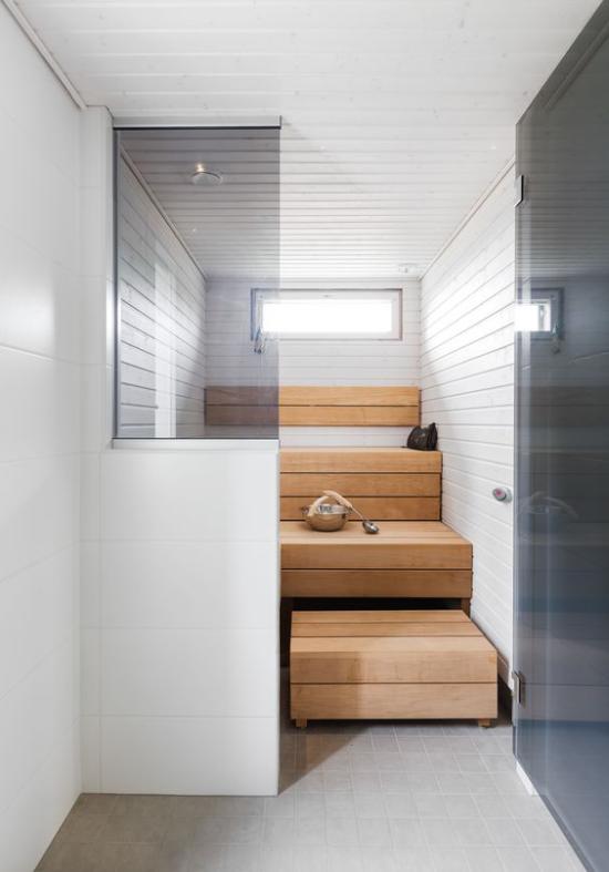 Sauna kleine Heimsauna gesund zuhause saunieren vor dem Saunabesuch sich ärztlich beraten lassen