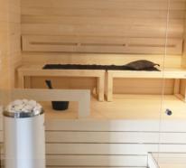 Mit einer Sauna zuhause bleiben Sie fit und gesund!