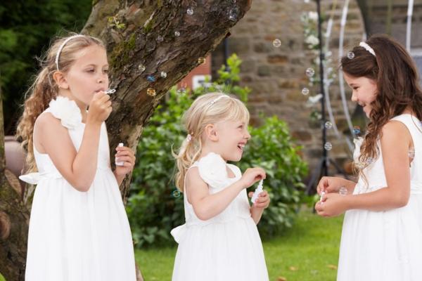 Seifenblasen Hochzeit Kinder Spaß