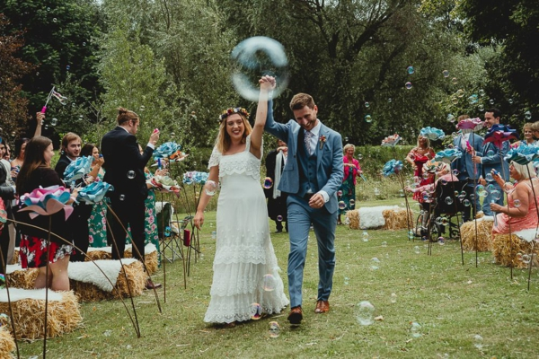 Seifenblasen Hochzeit große Seifenblasen Deko