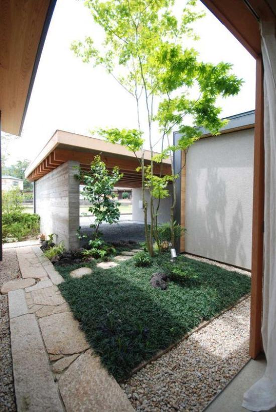 Tolle Idee für die schöne Gartengestaltung