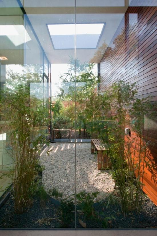 Toller Garten im Innenhof Gartengestaltung