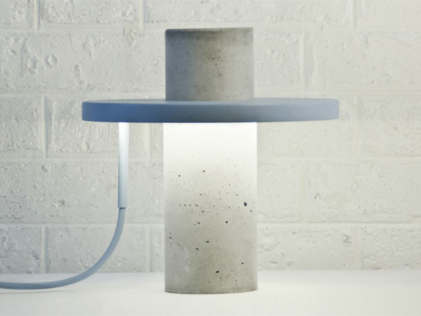 Totem-Lamp Pendelleuchte Beton