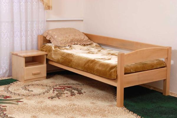 bettgroesse- einzelbett aus holz