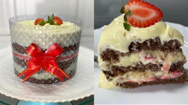 bolo tsunami cake erdbeeren vanille
