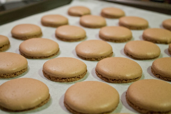 französische macarons backen