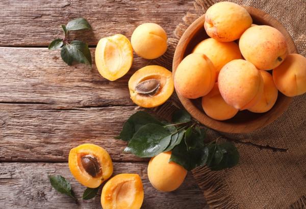frische aprikosen zum frühstück