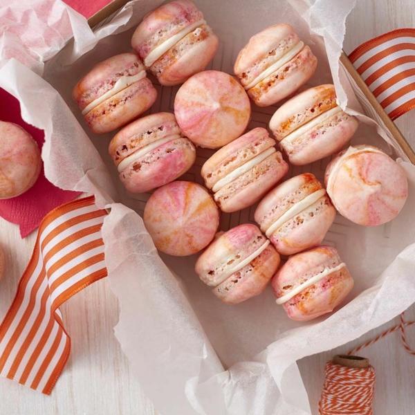 gastgeschenke hochzeit französische macarons