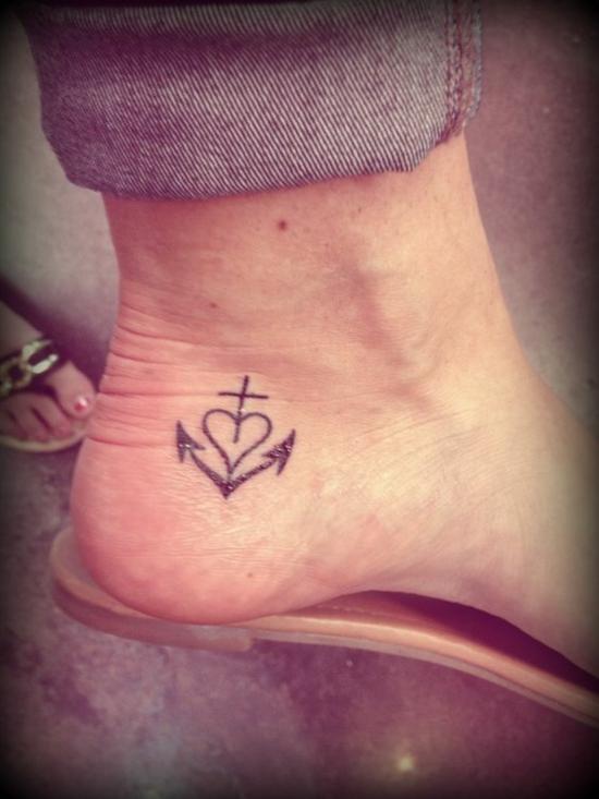 Tattoo hoffnung und kraft
